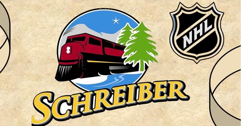 Schreiber logo with NHL logo